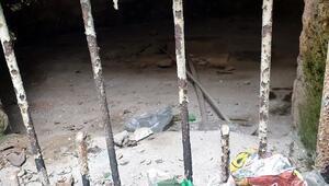 Ayasofyadan sonra en önemli eser olarak gösteriliyor Çöp yığınlarıyla doldu...