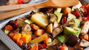 Fırında tahin soslu sebze nasıl yapılır Fırında tahin soslu sebze tarifi