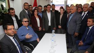Baykaldan ilk ziyaret CHP Antalya İl Başkanlığına