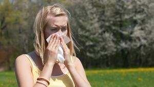 Bahar alerjisi sezonu başladı