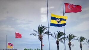 Galatasarayda bayraklar yarıya indi