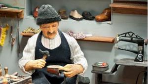 Orta Asyada çizmeye benzeyen konçlu ayakkabının ismi nedir
