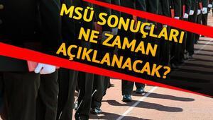 Milli Savunma Üniversitesi (MSÜ) sınav sonuçları ne zaman açıklanacak | Gözler o tarihte
