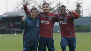 Trabzonsporun yeni transferleri yüzleri güldürdü