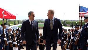 Pentagondan Akar-Shanahan görüşmesine ilişkin açıklama