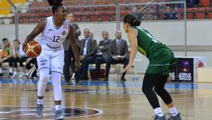 Çukurova Basketbol play-offa farklı başladı 48 sayı...