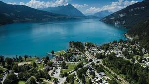 İki göl arasındaki cennet Interlaken