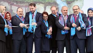 Bakan Albayrak ve Christian Berger Trabzon Günleri etkinliğine katıldı