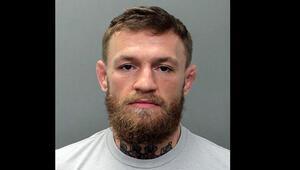 McGregor kelepçelendi O anlar...