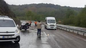 Motosikletiyle kaza yapan İsveçli turist öldü