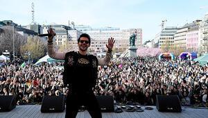 Stockholm'de 20 bin kişiyle 23 Nisan kutlaması
