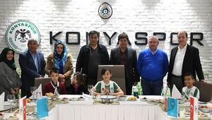 Atiker Konyasporda 23 Nisan kutlaması