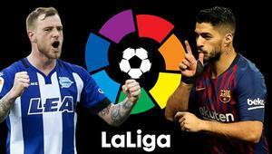 İspanya La Ligada hafta içi mesaisi Barcelonanın iddaa oranı...