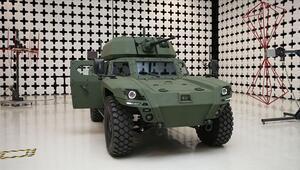 Türkiyenin ilk elektrikli zırhlı aracı Akrep II tanıtıldı