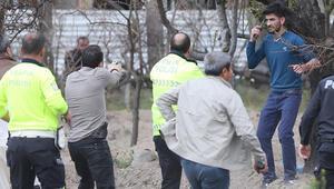 Kayseri'de dehşet anları Polis köşeye sıkıştırınca...