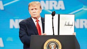 Başkan Trump o anlaşmadan da çekiliyor