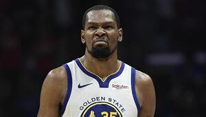 Durant 50 attı, Warriors yarı finale yürüdü