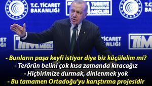 Cumhurbaşkanı Erdoğandan İnovasyon Haftası ödül töreninde önemli açıklamalar