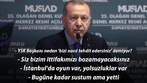 Son dakika: Cumhurbaşkanı Erdoğandan flaş mesajlar