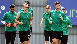 Bursaspor, Antalyaspor hazırlıklarına başladı