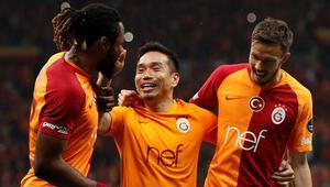 Galatasaray derbide para bastı
