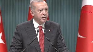 Son dakika Cumhurbaşkanı Erdoğandan Devlet Övünç Madalyası Tevcih Töreni'nde önemli açıklamalar