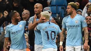 Manchester Cityyi kaptanı kurtardı Şampiyonluk son maça kaldı...