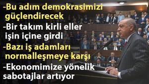 Cumhurbaşkanı Erdoğandan YSKnın İstanbul kararı ile ilgili ilk açıklama