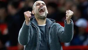 İngilterede ayın teknik direktörü Guardiola