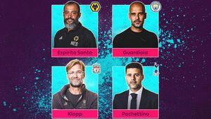 Premier Ligde sezonun teknik direktörü adayları açıklandı
