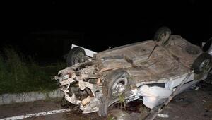 Batmanda otomobil ile hafif ticari araç çarpıştı: 1 ölü, 9 yaralı