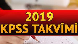 KPSS 2019 başvuruları için son gün ne zaman KPSS oturumları ne zaman
