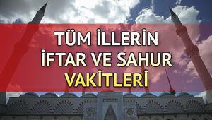 İzmirde iftar saat kaçta İl il iftar ve sahur saatleri