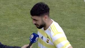 Tolga Ciğerci sahada U21 maçında ilk kez...
