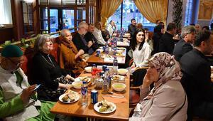 Müslüman ve Hıristiyanlar iftar sofrasında buluştu