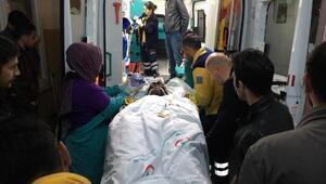 İftar vakti taş ocağındaki patlamada 4 işçi yaralandı