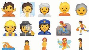 Google'ın son keşfi ne kadın ne erkek emoji