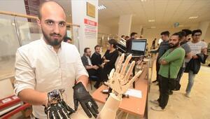 Suriyeli öğrenciler robotik el yaptı