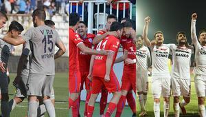 Spor Toto 1. Ligde play-offa son 2 bilet 3 takım...