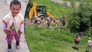 Ecrinin kaybolduğu evin yakınında kazı çalışması