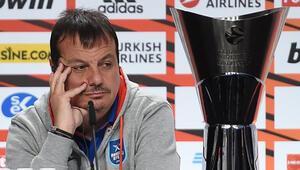 Ergin Ataman: Belki yarın sabah taktiksel bir sürpriz hazırlarız