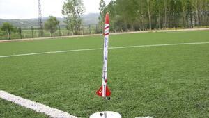 Öğrenciler tarafından geliştirilen mini roket fırlatıldı
