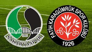 TFF açıkladı: Sakaryaspor-Karagümrük finali Bursada