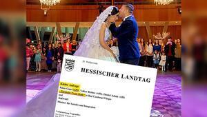 AfD bu kez düğün salonuna karşı çıktı