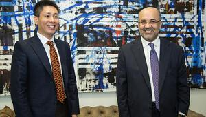 Çin Başkonsolosu Cui Weiden Demirören Medyaya ziyaret