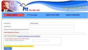 Posta kodu nedir Türkiye geneli posta kodu sorgulama