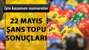 Şans Topunda 780 bin TLlik ikramiye | 22 Mayıs Milli Piyango Şans Topu çekiliş sonuçları