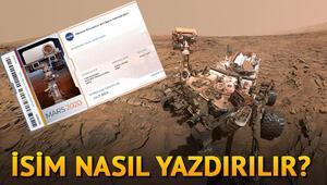 NASA Mars bileti büyük ilgi görüyor - MARS 2020 bileti almak için yapılması gerekenler