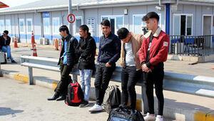 Edirnede 343 düzensiz göçmen yakalandı