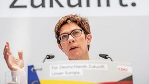 Karrenbauer: Yenilgide hata bizim